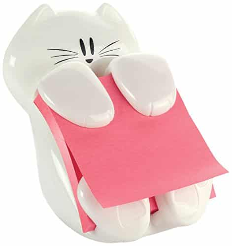 Kitty Post-it Note Dispenser