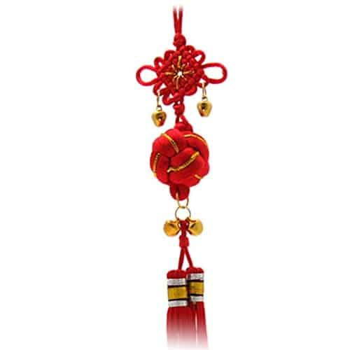 Chinese Knot Charm with Bells