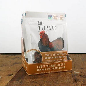 long-distance gifts for boyfriend | non-beef jerky chicken bites