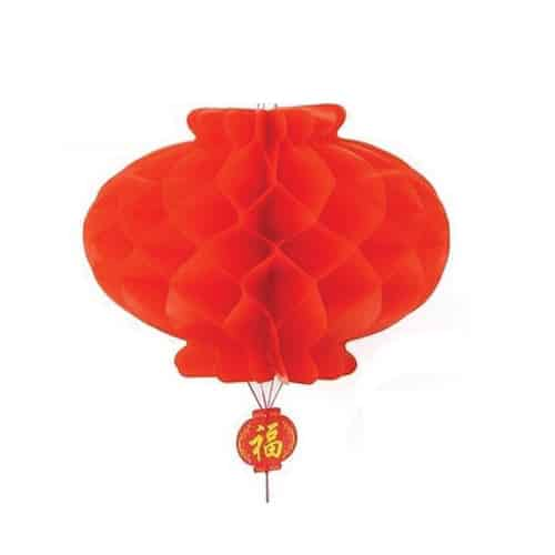 Set of 2 Red Paper Lantern