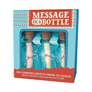 long-distance gifts for boyfriend | message in a bottle
