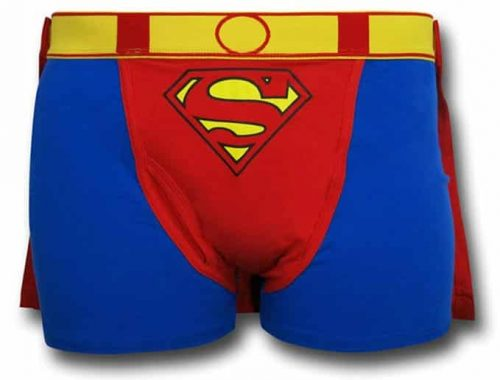 Superman Caped Boxer Brief