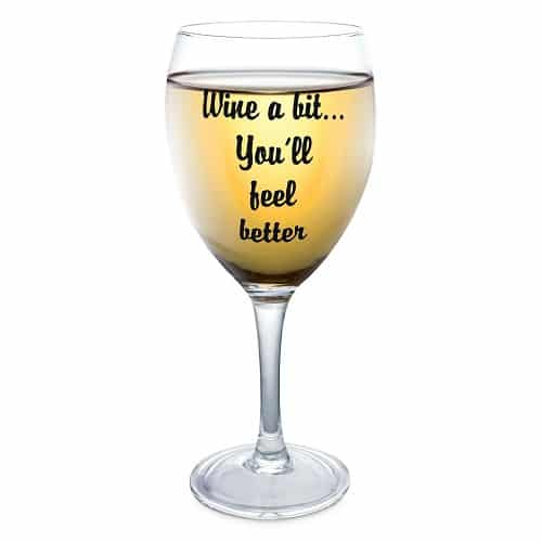 Funny Wine Glass