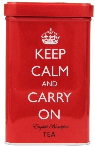 Keep Calm and Carry On English Breakfast Tea