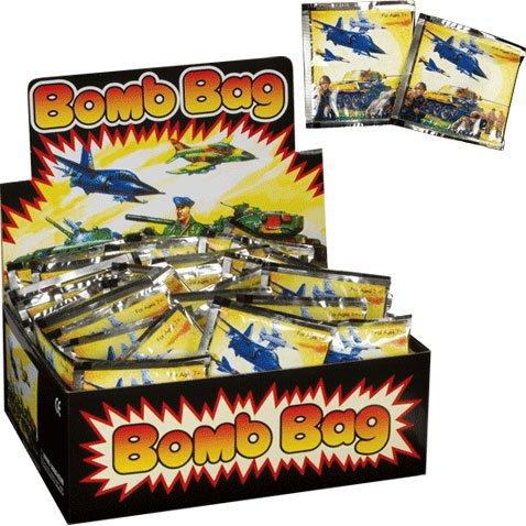 april fools day evil prank ideas. exploding noisemakers bomb bags