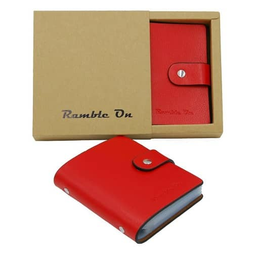 Ramble On Business Card Holder