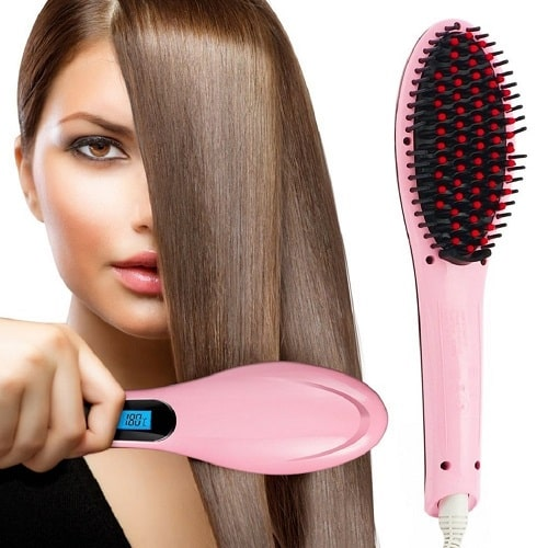 PrettyFirst Hair Straightener Brush