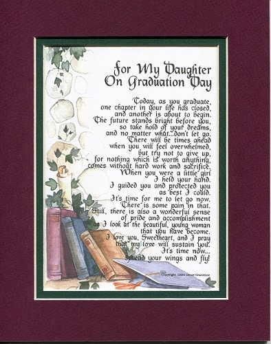 Daughter Graduation Day Poem