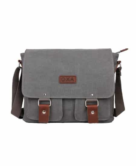 OXA Vintage Canvas Messenger Bag