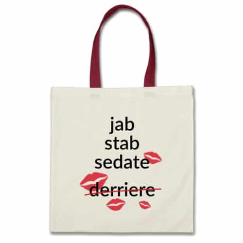 Jab Stab Sedate Nurse Bag