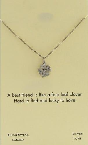 Shagwear Best Friends Pendant Necklace