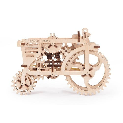 Tractor 3D Puzzle Model