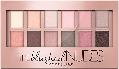 maybelline new york the blushed nudes