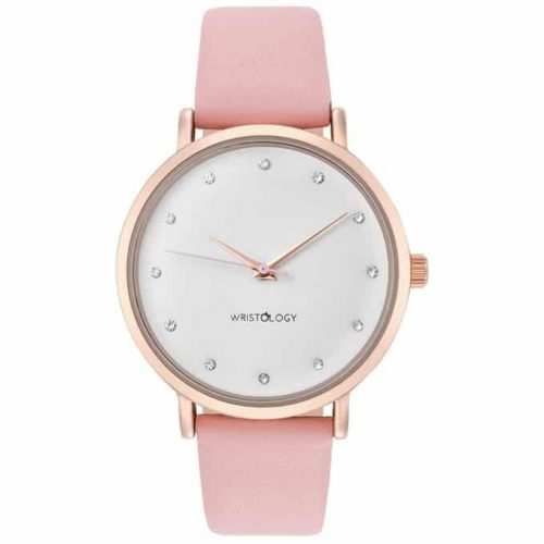 WRISTOLOGY Olivia Chunky Rose Gold Boyfriend Watch. College girls fashion.