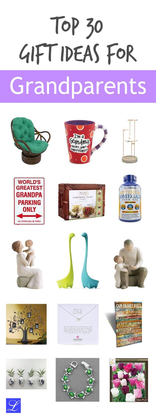 30+ Gifts for Grandparents - Perfect for Christmas, Birthday, and Anniversary.