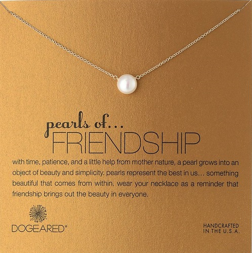 Pearls of Friendship Pearl Necklace
