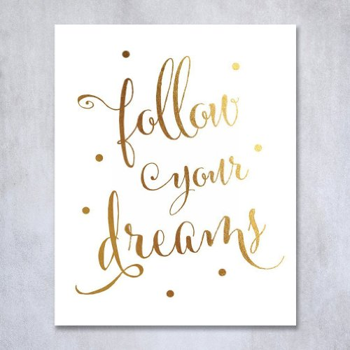 Inspirational Quote Wall Art