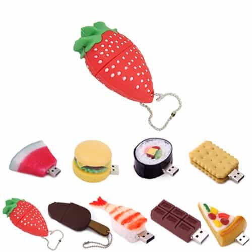 Food Shaped USB Flash Drive
