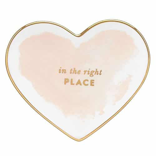 Kate Spade Posy Court Small Heart Dish