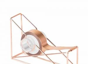 Rose Gold Wire Tape Dispenser