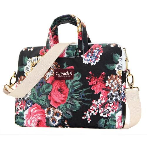 Black Rose Messenger Bag