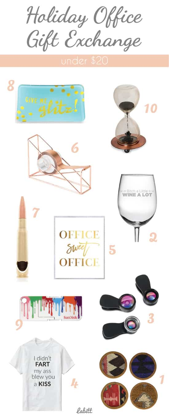 Holiday office gift exchange ideas under 20 Good gifts for gift exchange