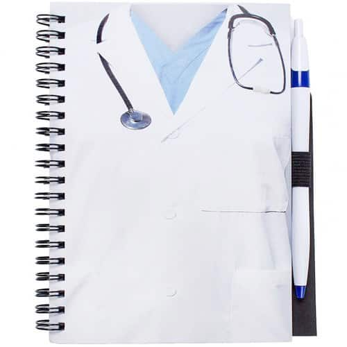 Doctor Notebook and Pen Combo