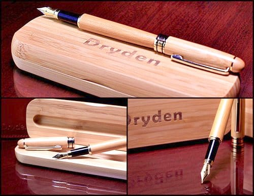 Dryden Fountain Pen Case