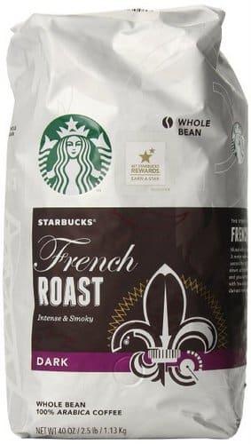 Starbucks French Roast Whole Bean Coffee