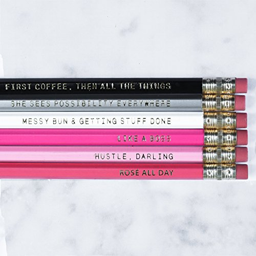 Motivational Pencil Set