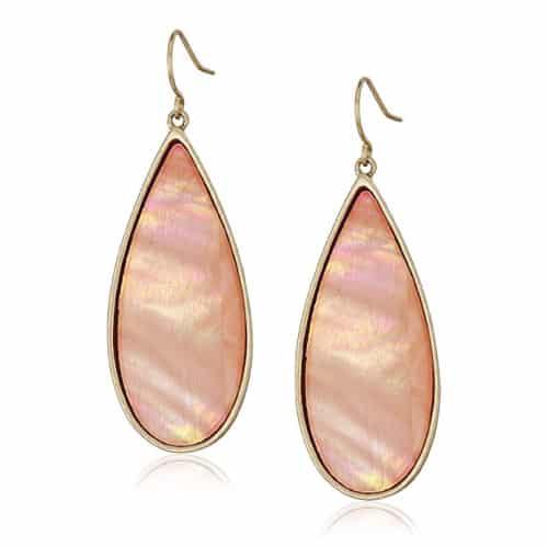 kenneth cole shell teardrop earrings