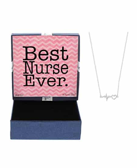 Best Nurse Ever Pendant Necklace | national nurse week ideas gifts