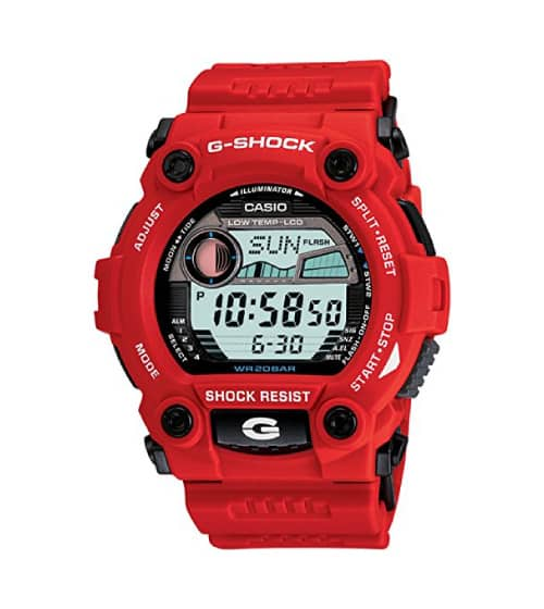 Casio Rescue Big Case Watch