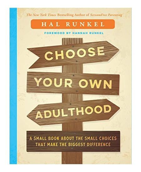 high school graduation gift idea for guys - Choose Your Own Adulthood