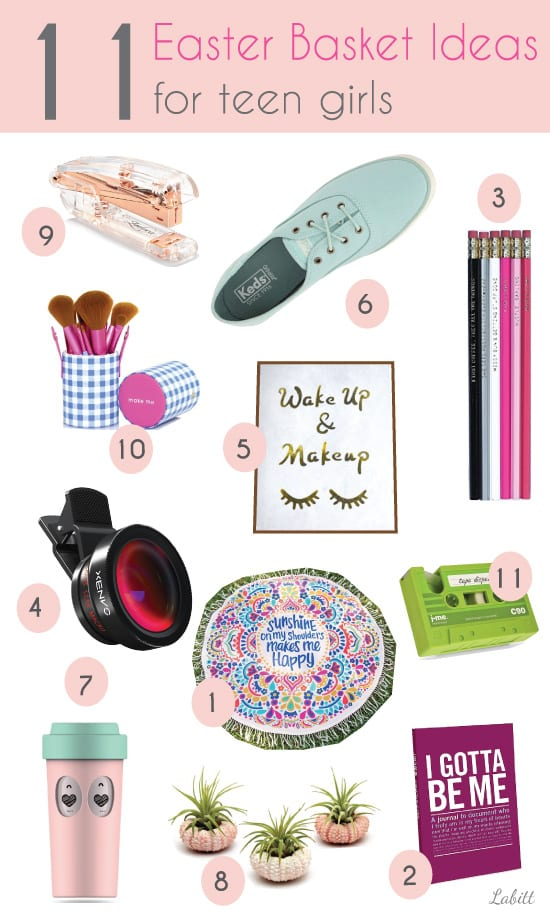 What to fill in your teenagers easter basket metropolitan girls join me in pinterest negle Choice Image
