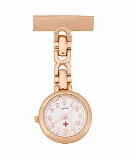 Lapel Pin Watch - unique gift ideas for nurses appreciation gift ideas | national nurse week