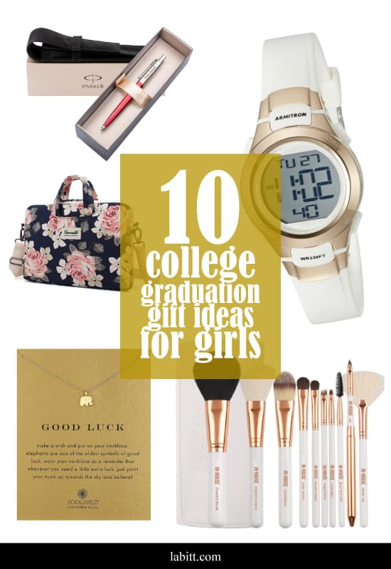 College graduation gift ideas for girls - for friend - for daugther