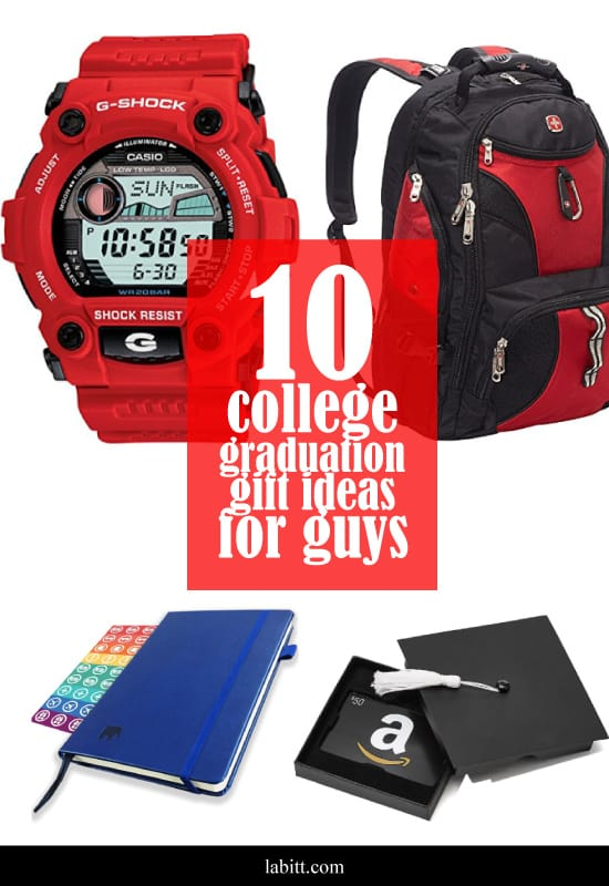 college graduation gift ideas for guys - for men - for son