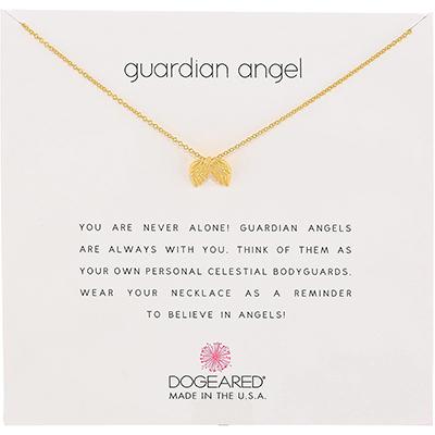 Dogeared Guardian Angel Pendant Necklace | national nurse week gift ideas, nurse graduation, nurse appreciation gift