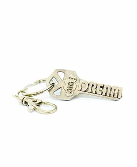 high school graduation gift idea for guys - Dream Big Keychain