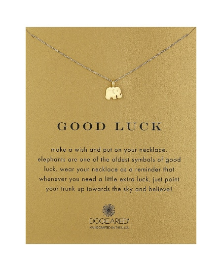 Good Luck Elephant Pendant