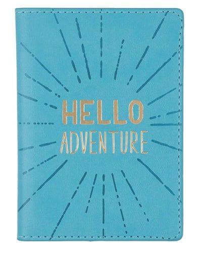 Hello Adventure Passport Holder