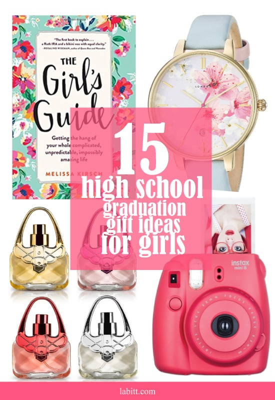 High School Graduation Gift Ideas for Girls Collage