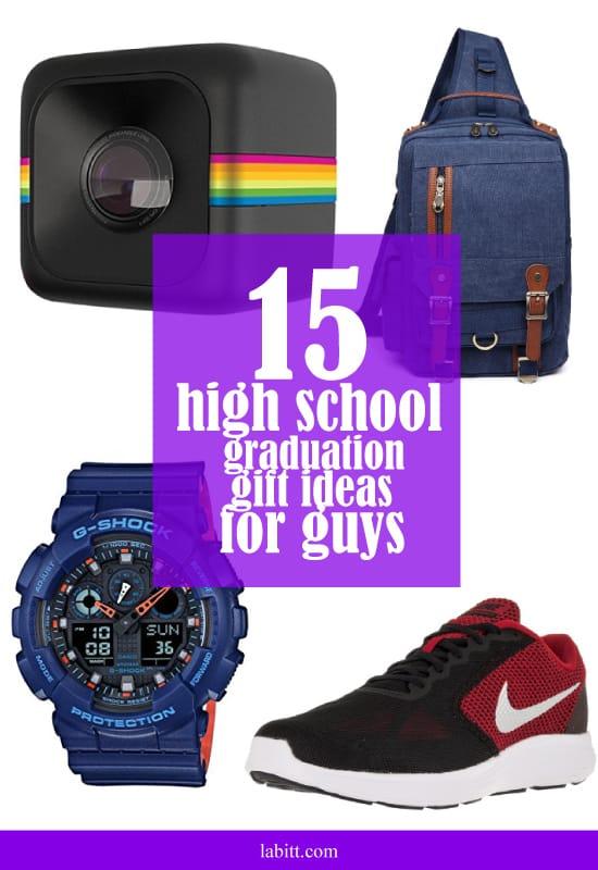 High School Graduation Gift Ideas for Guys