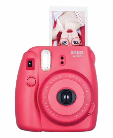 high school graduation gift for her - Fujifilm Instax Mini 8 Red