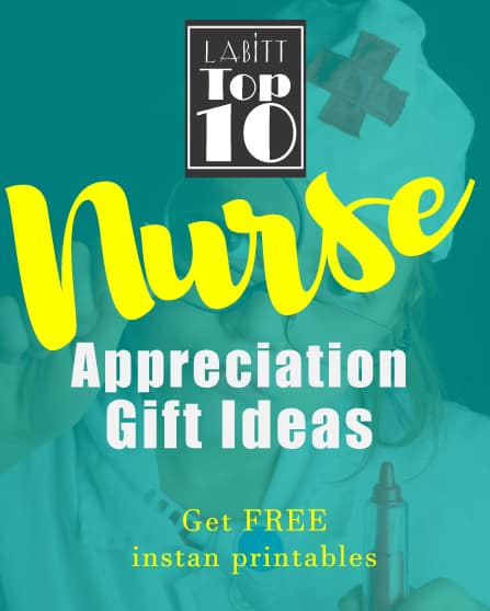National Nurse Week Appreciation Gift Ideas | Simple Gifts from Boss for Staff | DIY Handmade Gift Card Presentation Printables