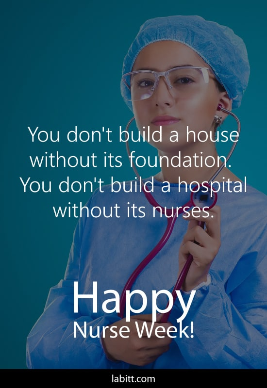 National Nurse Week Quote | gift ideas for nurse graduation
