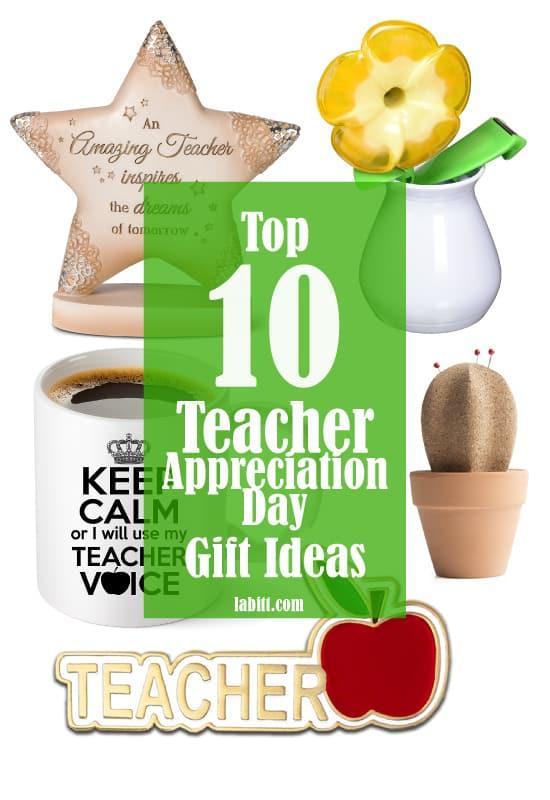 Top 10 Teacher Appreciation Day Gift Ideas