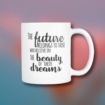 college graduation gift for her - inspirational mug