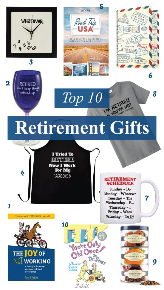 Top 10 retirement gift ideas metropolitan girls top 10 best retirement gift ideas coworker teacher dad mom retirement gifts negle Images